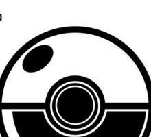 Pokemon League (Black) Sticker