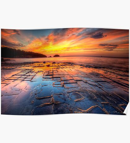 The Tessellated Pavement Poster
