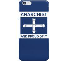 Anarchist Australian Eureka flag iPhone Case/Skin