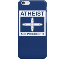 Atheist Australian Eureka flag iPhone Case/Skin