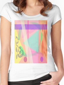 Ambush for the Snake Women's Fitted Scoop T-Shirt
