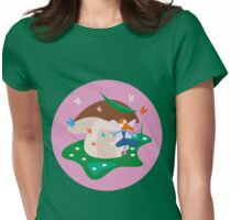 Forest Fairy Womens Fitted T-Shirt