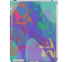 Four People at Table iPad Case/Skin