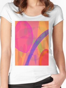 Purple Rainbow Women's Fitted Scoop T-Shirt