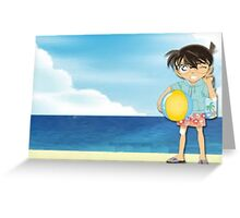 Detective Conan:  Go To The Beach Greeting Card