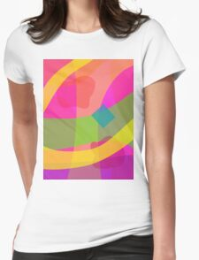 Fruit and light Womens Fitted T-Shirt
