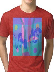 Swimming Tri-blend T-Shirt