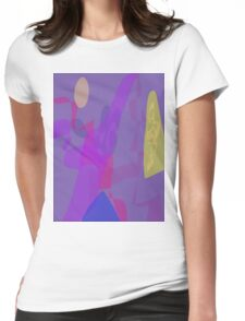Blue Mountain Oriental Womens Fitted T-Shirt