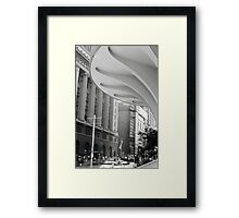 The City on film Framed Print