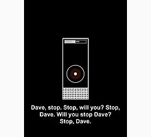 Hal 9000 Minimalist DAVE?! Unisex T-Shirt