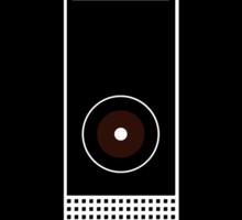 Hal 9000 Minimalist DAVE?! Sticker