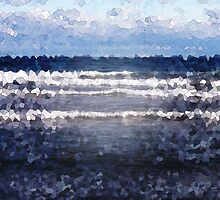White Cap Waves by Phil Perkins