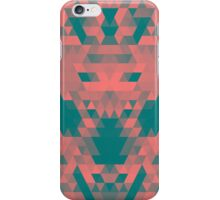 Abstract Triangle Donkey iPhone Case/Skin