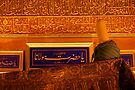 Tomb of Mevlana Celaleddin Rumi in Konya by Jens Helmstedt
