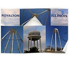 Royalton Water Tower Poster
