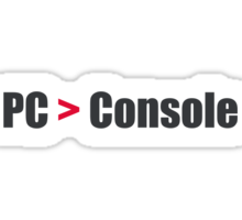 PC > Console Sticker