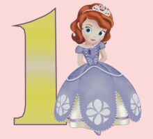 Sofia the first 1st Birthday by sweetsisters
