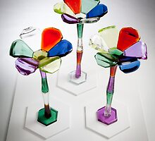 Electric bike (novelty oversize flowers) by Sui .jackson