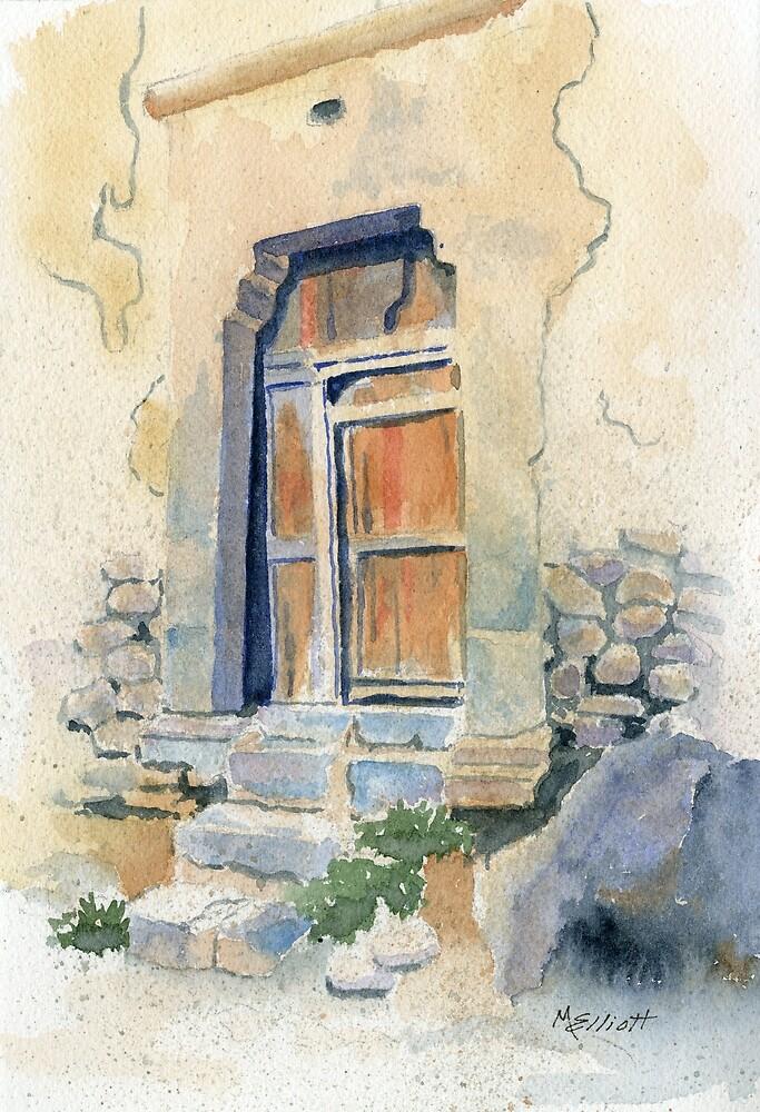 Old Door in Cuzco, Peru by Marsha Elliott