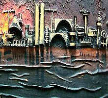 Industrial Port-part 2 iPhone Cases by rafi talby by RAFI TALBY