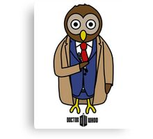 Dr. Whoo - The 10th Owl Canvas Print