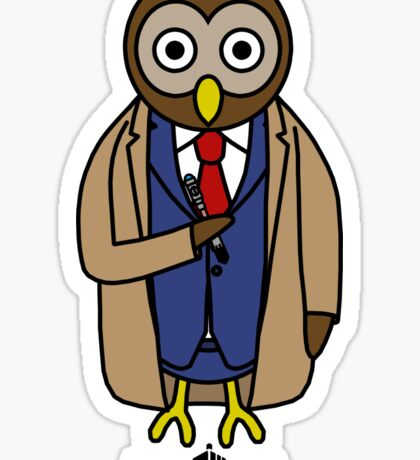 Dr. Whoo - The 10th Owl Sticker