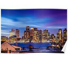 Boston colors Poster