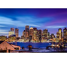 Boston colors Photographic Print