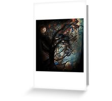 Abstract Tree  Greeting Card