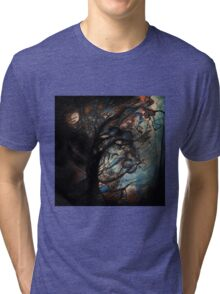 Abstract Tree  Tri-blend T-Shirt