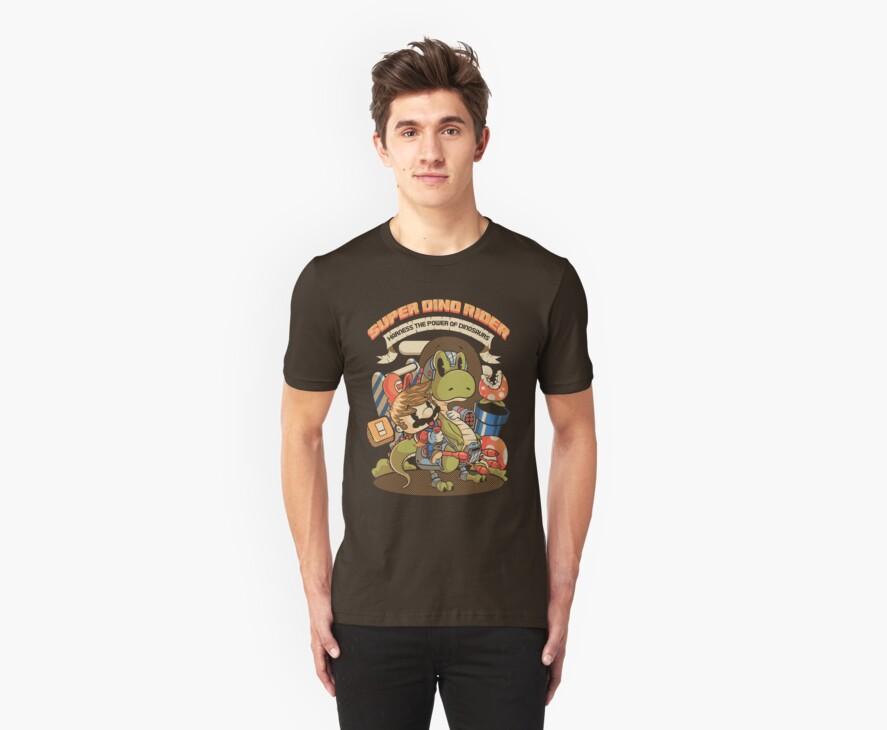 Super Dino Rider by pinteezy