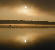 Early morning paddle by SonnyReid