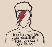 Ziggy Stardust - Rebel Rebel by Raura