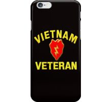 25th Infantry Div. Vietnam Veteran T-shirt iPhone Case/Skin