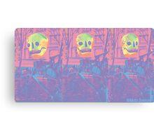 Skull Sculpture Canvas Print