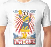 Patsy Cline Poster. Grand Ole Opry. Country Music. Nashville. TN.  Unisex T-Shirt