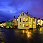 A corner of Reykjavik  by Pippa Carvell