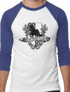 Evil League of Evil Black Men's Baseball ¾ T-Shirt