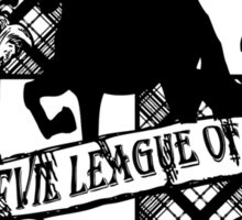 Evil League of Evil Black Sticker