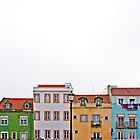 Colourful Houses by christina chan