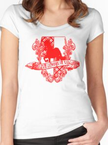 Evil League of Evil Women's Fitted Scoop T-Shirt