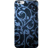 Pattern blue iPhone Case/Skin