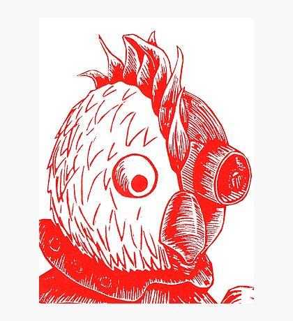 Robot Chicken Photographic Print