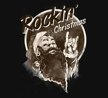 Rockin Christmas Santa Claus - X-Mas RAHMENLOS Unisex T-Shirt