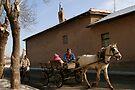 Horse Carriage in Konya-Karatay by Jens Helmstedt