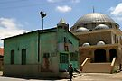 Old and new mosque in Konya-Karatay by Jens Helmstedt