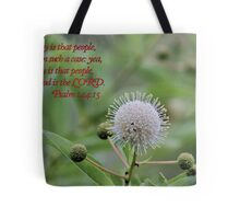 Happy is That People Whose God is the LORD! Tote Bag