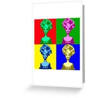 Doll Warhol Greeting Card