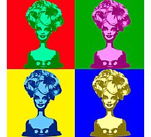 Doll Warhol Photographic Print