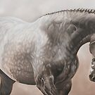 """Well Chosen"" - Parade stallion by Pauline Sharp"